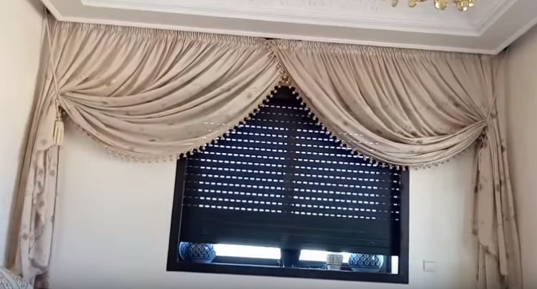 خوامي ديال الصالون ستائر صالونات ستائر صالونات تركية ستائر صالونات عصريةستائر الصالون المغربي 2019 Valance Curtains Home Decor Decor