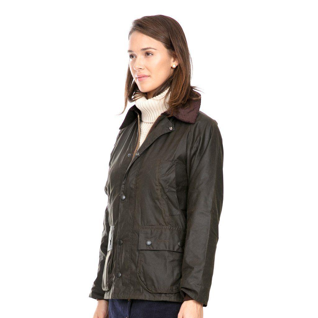 f7f9d4c5bcdda Barbour® Women's Olive Classic Bedale Wax Jacket | wardrobe | Wax ...