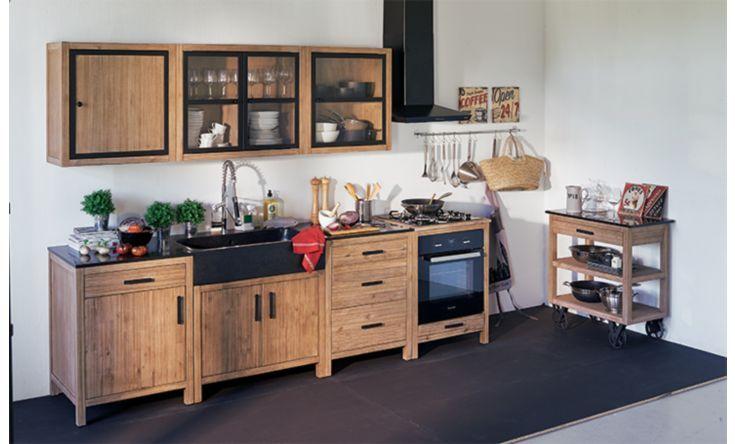 La cuisine bois et béton - La cuisine - Idées déco - Alinéa ...