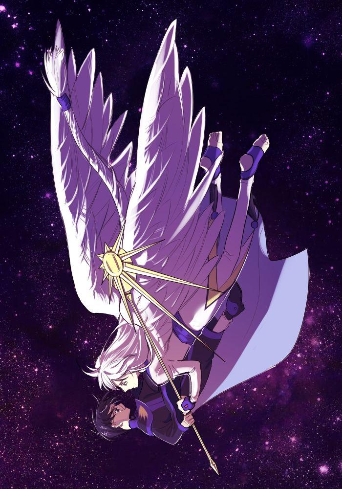 H Eriol and Yue - Cardcaptor Sakura