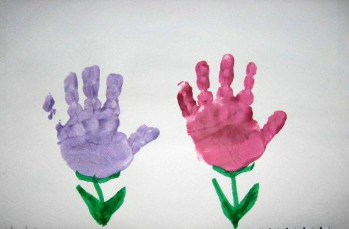Handabdruck Bilder Ideen.1001 Ideen Für Tolle Handabdruck Bilder Die Ihnen Und