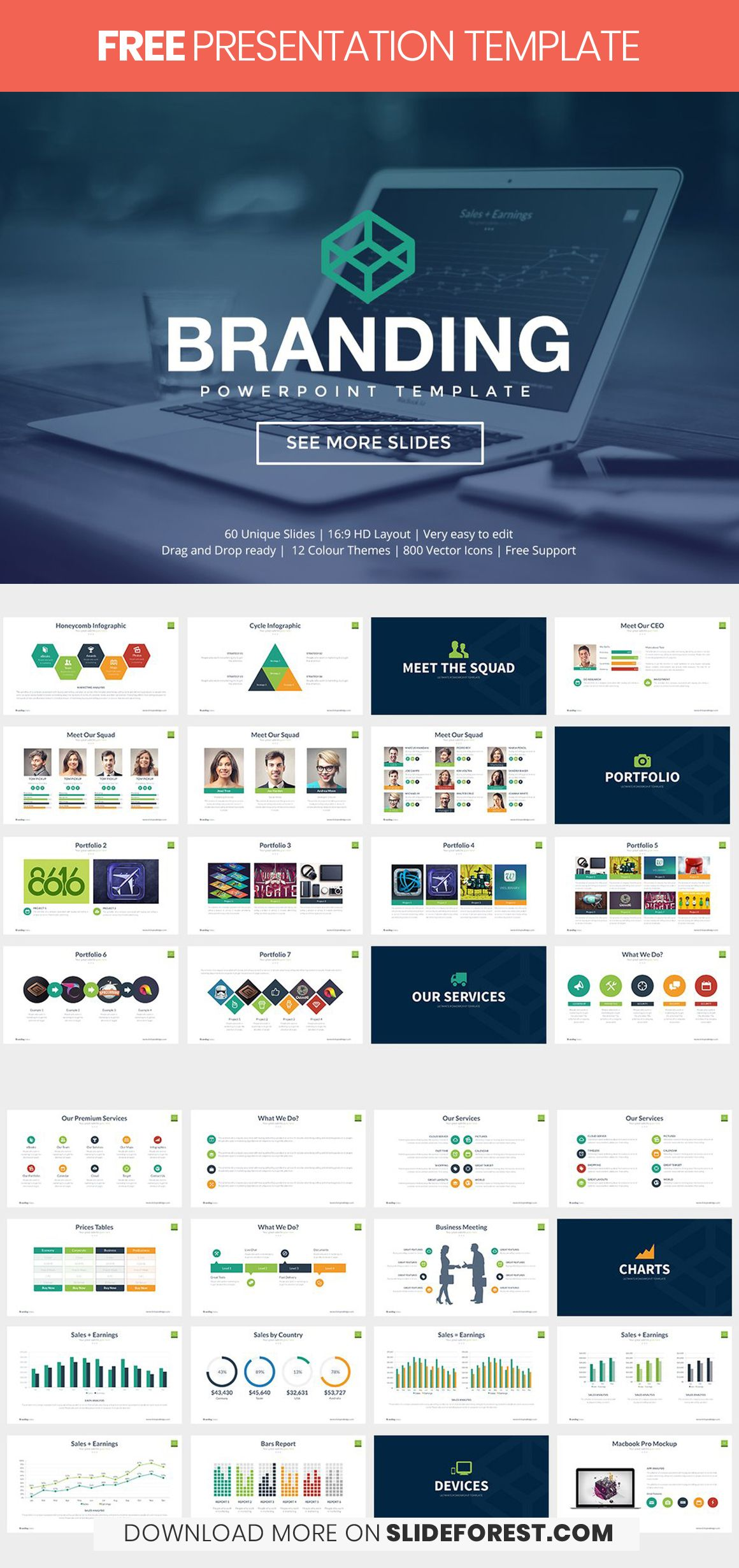 Branding Free Powerpoint Template Demo Free Powerpoint Templates