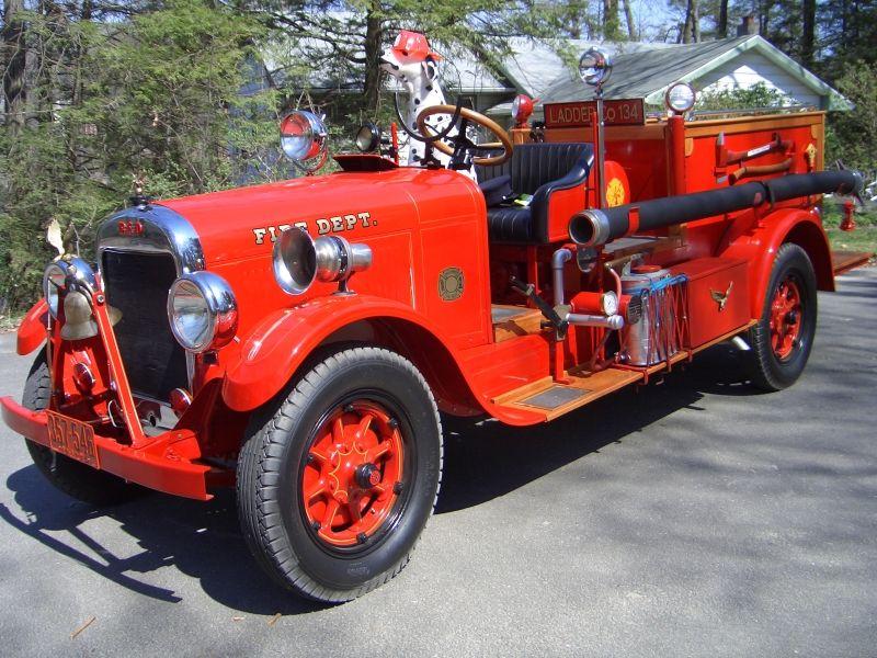 1928 Reo Fire Truck Trucks Fire Pinterest Fire