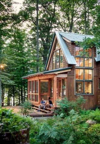 All Together Now Maine Home Design Cottage Plan Forest Cottage House Design