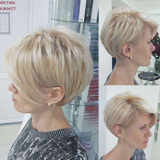 Pin Od Małgorzata Jarzębak Na Fryzury Hair Cuts Short Hairstyles