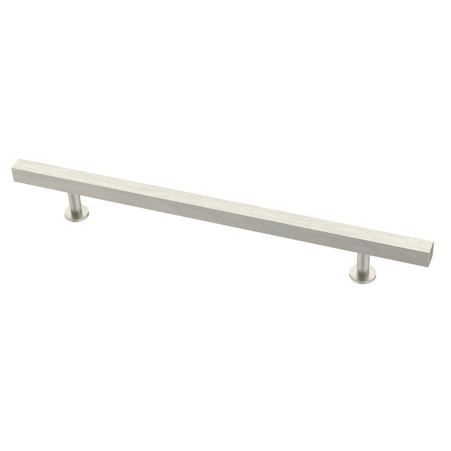 Brainerd Square Bar Pulls 7 9 16 In Center To Center Stainless Steel Rectangular Bar Cabinet Pull Bar Cabinet Cabinet Doors Door Pulls