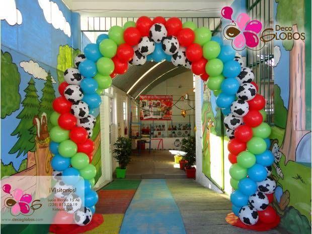 decoracin con globos en xalapa para fiestas infantiles xalapa