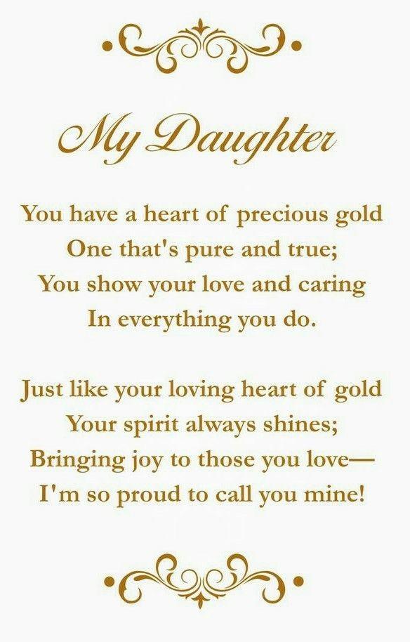My Daughter Cards Pinterest Happy Birthday Daughter