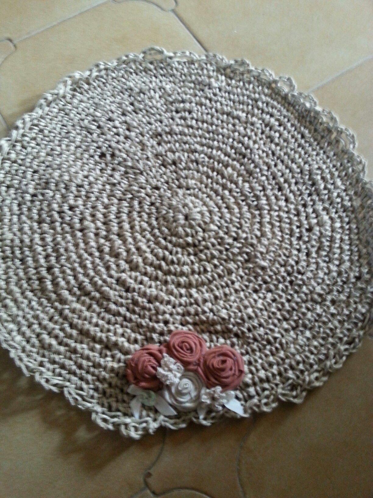 tappeto di corda | cotton candy heart | Pinterest
