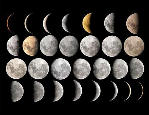 every phase of the moon