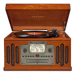 Crosley Musician Entertainment Center Cr704 Paprika Vintage Record Player Record Players Turntable