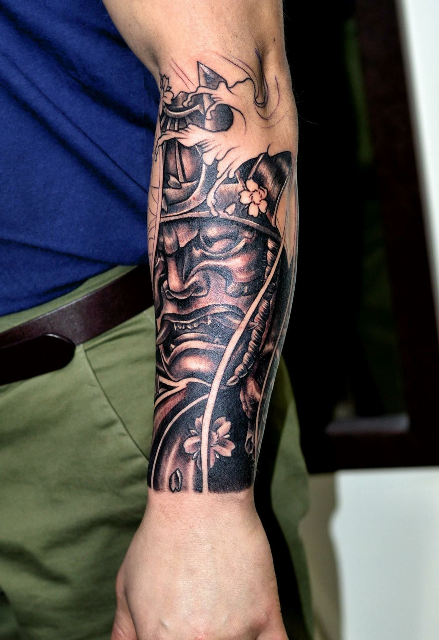 c833fb3ae Really incredible forearm tat! | tattoos | Samurai tattoo, Samurai ...