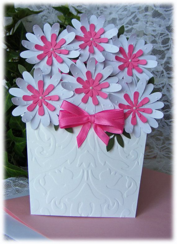 Paper vase cards google search papercard craft pinterest paper vase cards google search thecheapjerseys Gallery