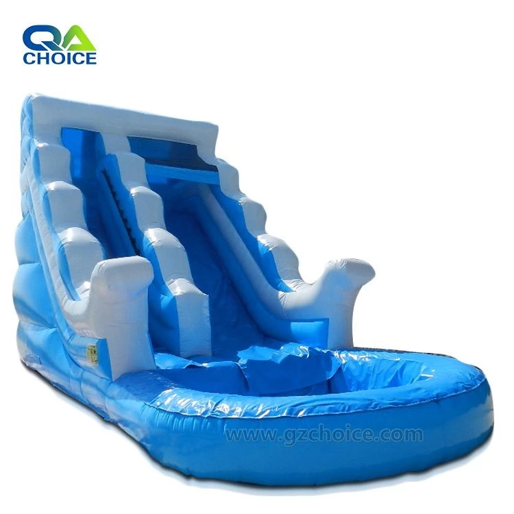 Wave Inflatable Kids Slides With Small Pool Children Water Slide Pool Inflatable View Pool Water Slide Choice Inflatables Product Details From Guangzhou Choi Inflatable Pool Pool Water Slide Water Slides