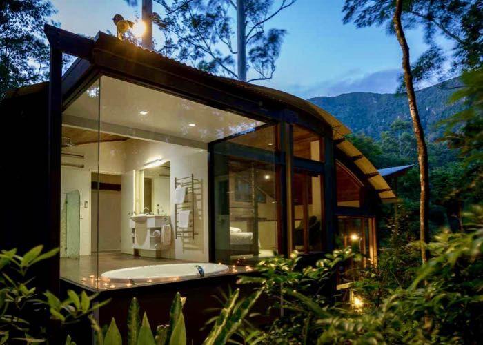 Crystal Creek Rainforest Retreat - Romantic Getaway Tweed ...