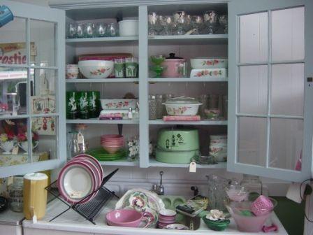 Vintage Salt and Pepper Shakers Flower Basket Ceramic Pink Cottage Shabby Chic Kitchen Decor