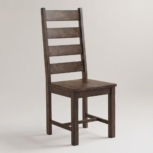 Wood Garner Dining Chairs, Set of 2 Brown by World Market