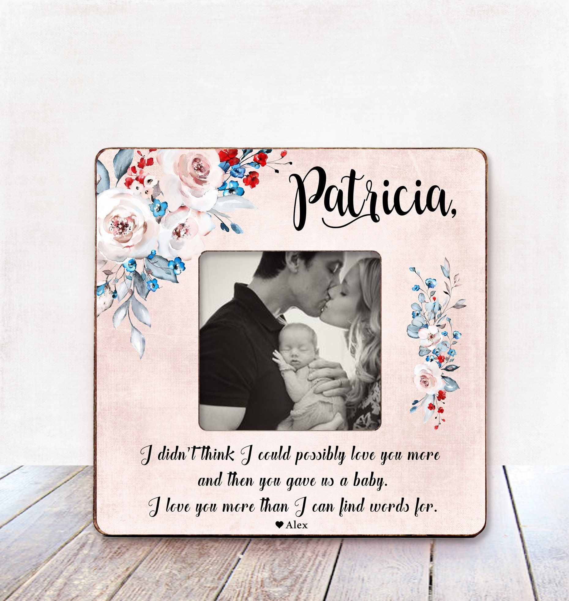 Mothers Day Gift For Wife Personalized Mothers Day Gift From