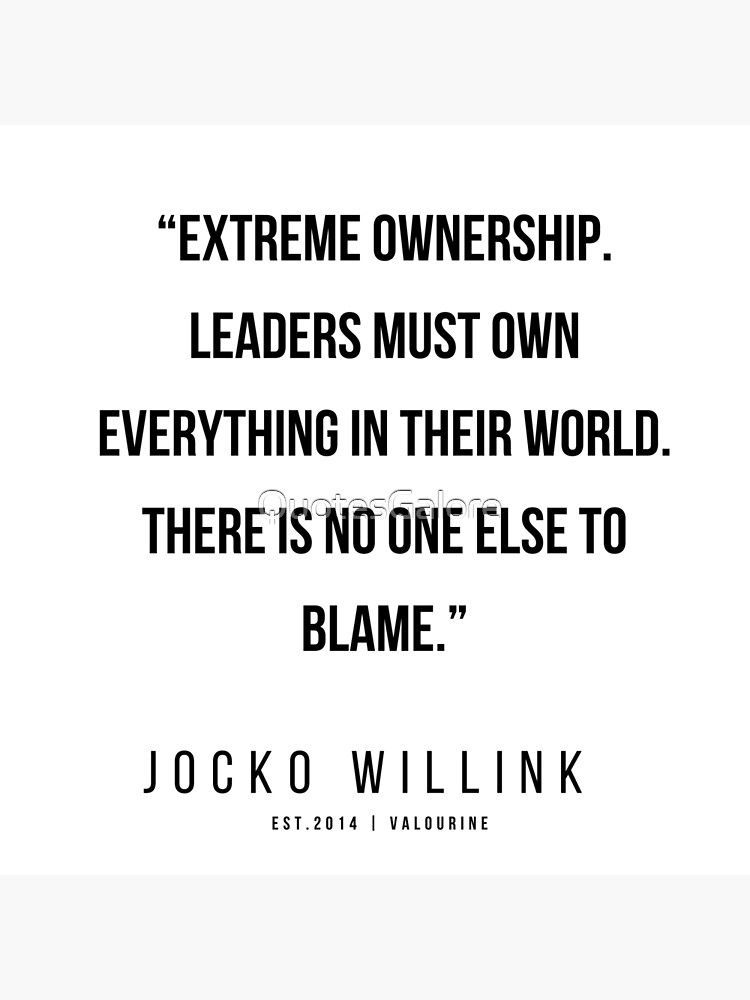 48 |  Jocko Willink Quotes | 200412 Poster by QuotesGalore