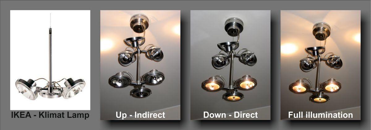 IKEA Hackers Double Klimat Lamp Craftster Furniture