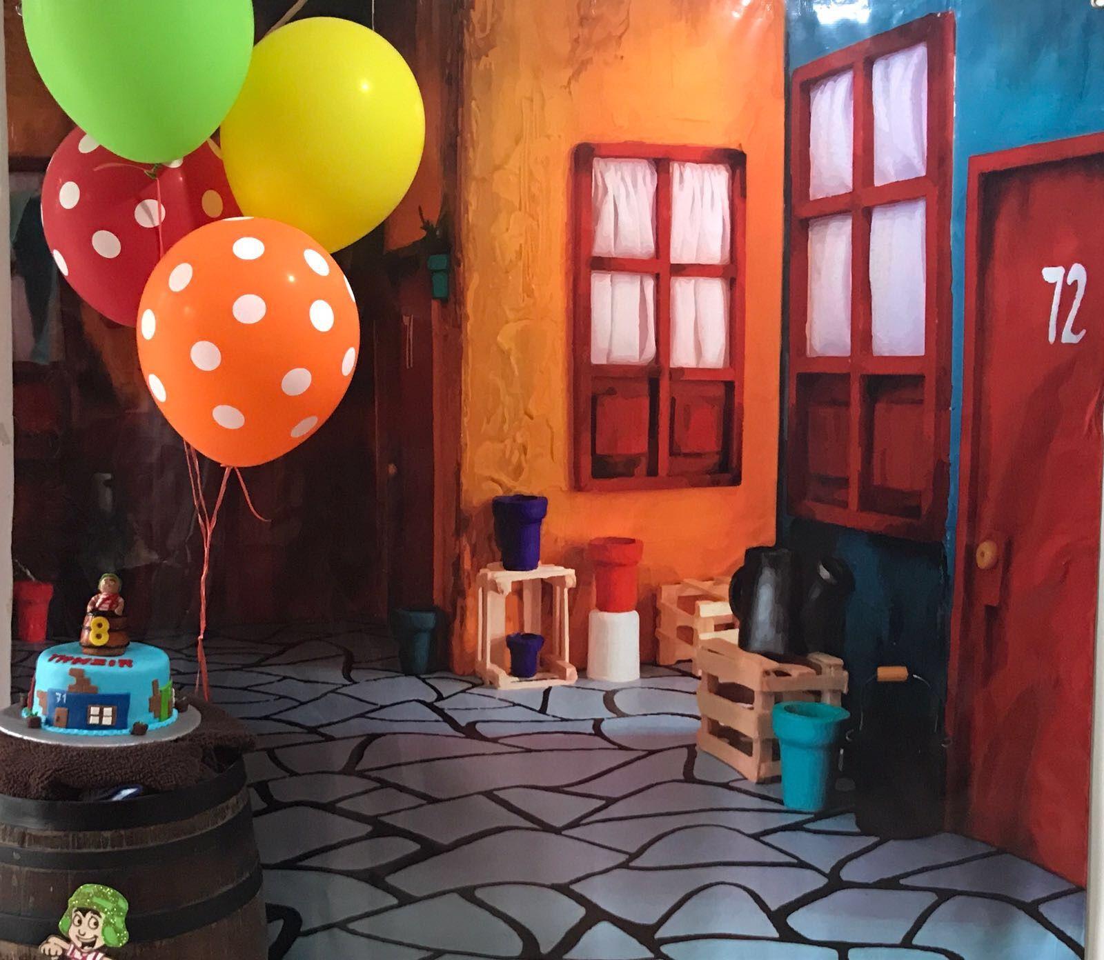 Vecindad Del Chavo Fondo Fiestas Tematicas Para Ninos Vecindad Del Chavo Chavo Del 8 Animado
