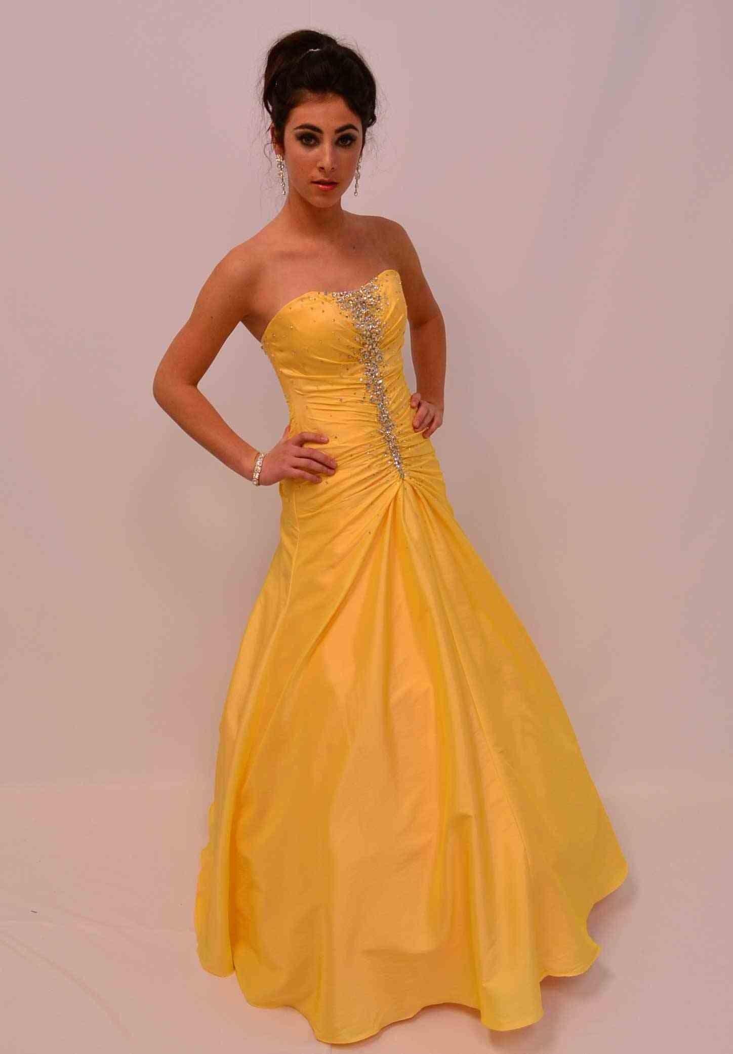 Flirt prom dress pyellowsale flirt prom abendkleider