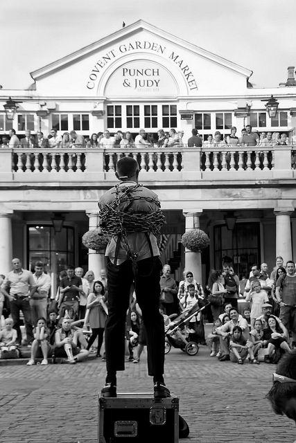 Covent Garden Escapologist London Market London Tours London Life