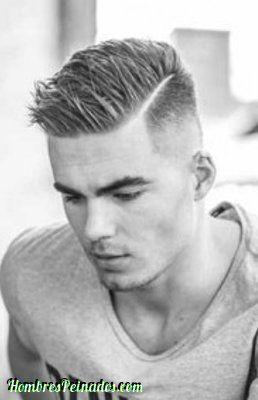 Peinado Casual Hombre Moda Pelo Corto Linea Lado Jpg 258 400 Short Hair Undercut Mens Hairstyles Short Mens Hairstyles Thick Hair