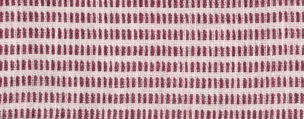 Pienza Birillino in Melanzana/Bianco from C&C Milano #red #dotted #linen #textiles #fabric #interiordesign #designinspiration #thetextilefiles #clothandkindinteriordesign #ccmilano