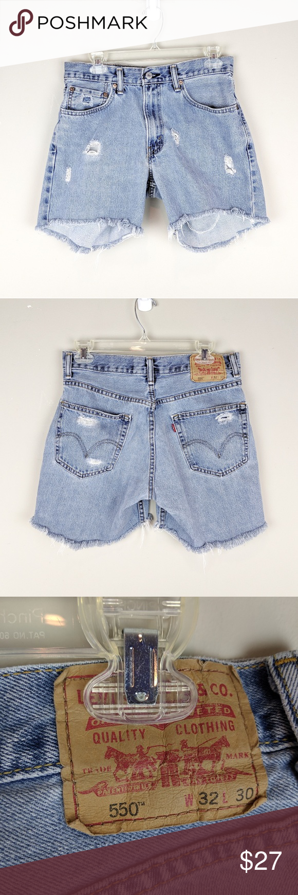 Levi's | Distressed Denim Cutoff Shorts Cute lighter wash denim cutoff shorts with distressed detailing. Size 32 x 30 relaxed fit. Good used condition !! Levi's Shorts #denimcutoffshorts Levi's | Distressed Denim Cutoff Shorts Cute lighter wash denim cutoff shorts with distressed detailing. Size 32 x 30 relaxed fit. Good used condition !! Levi's Shorts #denimcutoffshorts Levi's | Distressed Denim Cutoff Shorts Cute lighter wash denim cutoff shorts with distressed detailing. Size 32 x 30 relaxed #denimcutoffshorts