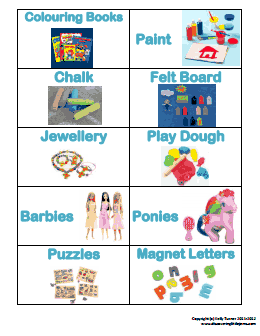 picture about Free Printable Classroom Labels for Preschoolers titled no cost printable Toy storage labels (c).pdf Business enterprise inside