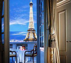 Shangri-La Hotel in Paris.