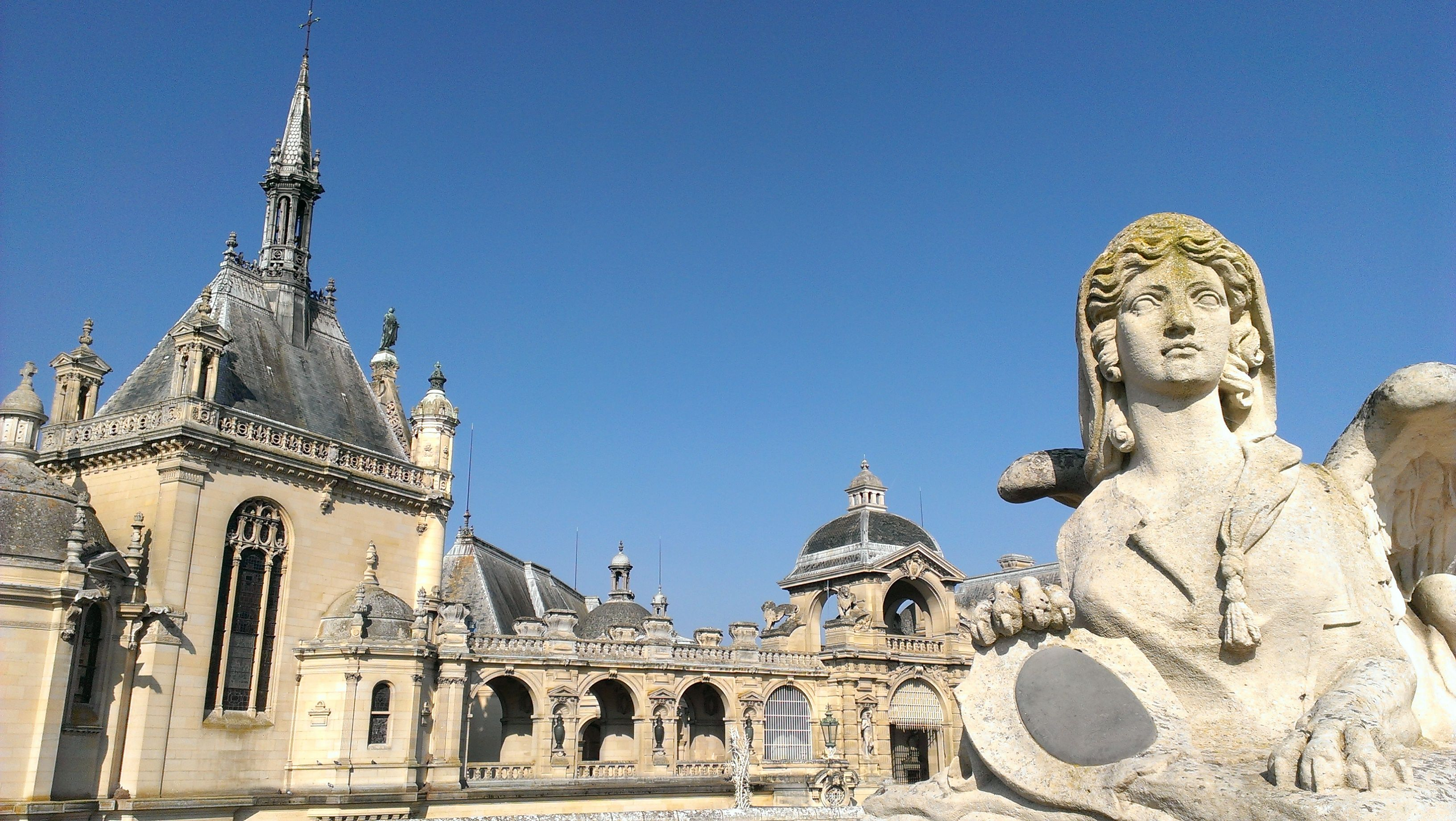 Chantilly Castle, Main entrance. (France)