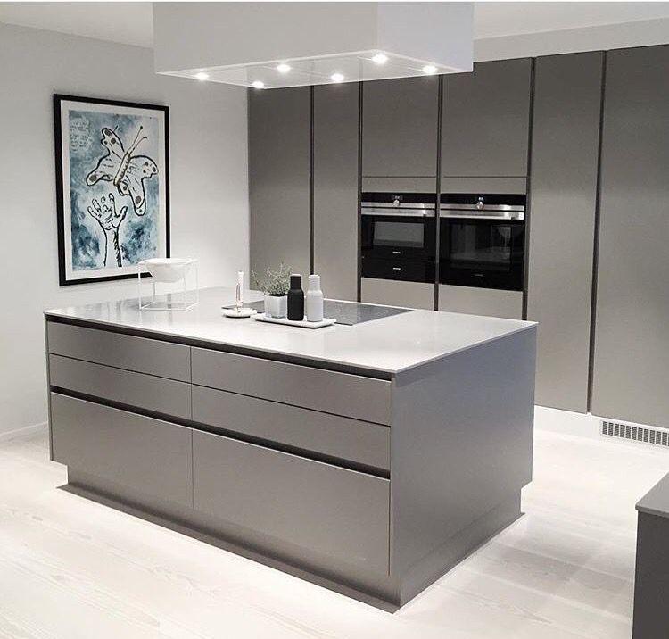 Schöne Graue Küche. #kitchen