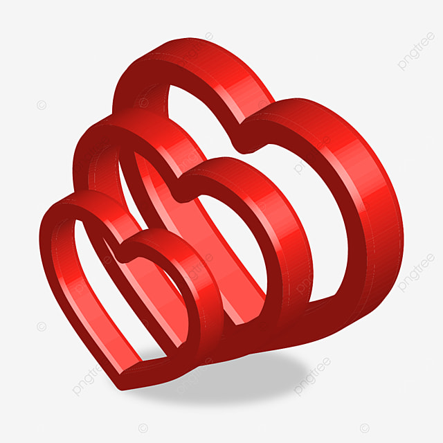 3d Circle Of Hearts Valentine 3d Heart Png And Vector With Transparent Background For Free Download Backdrops Backgrounds Free Vector Graphics Abstract Backgrounds