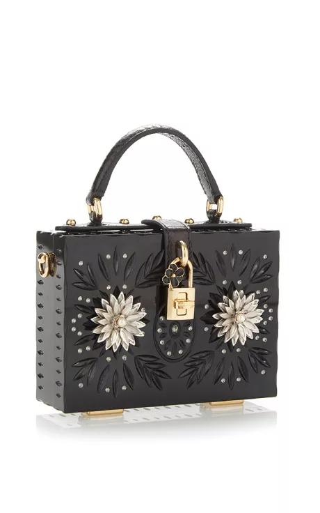 6e2bdc153f Embellished Plexi Mini Dolce Bag by Dolce   Gabbana for Preorder on Moda  Operandi