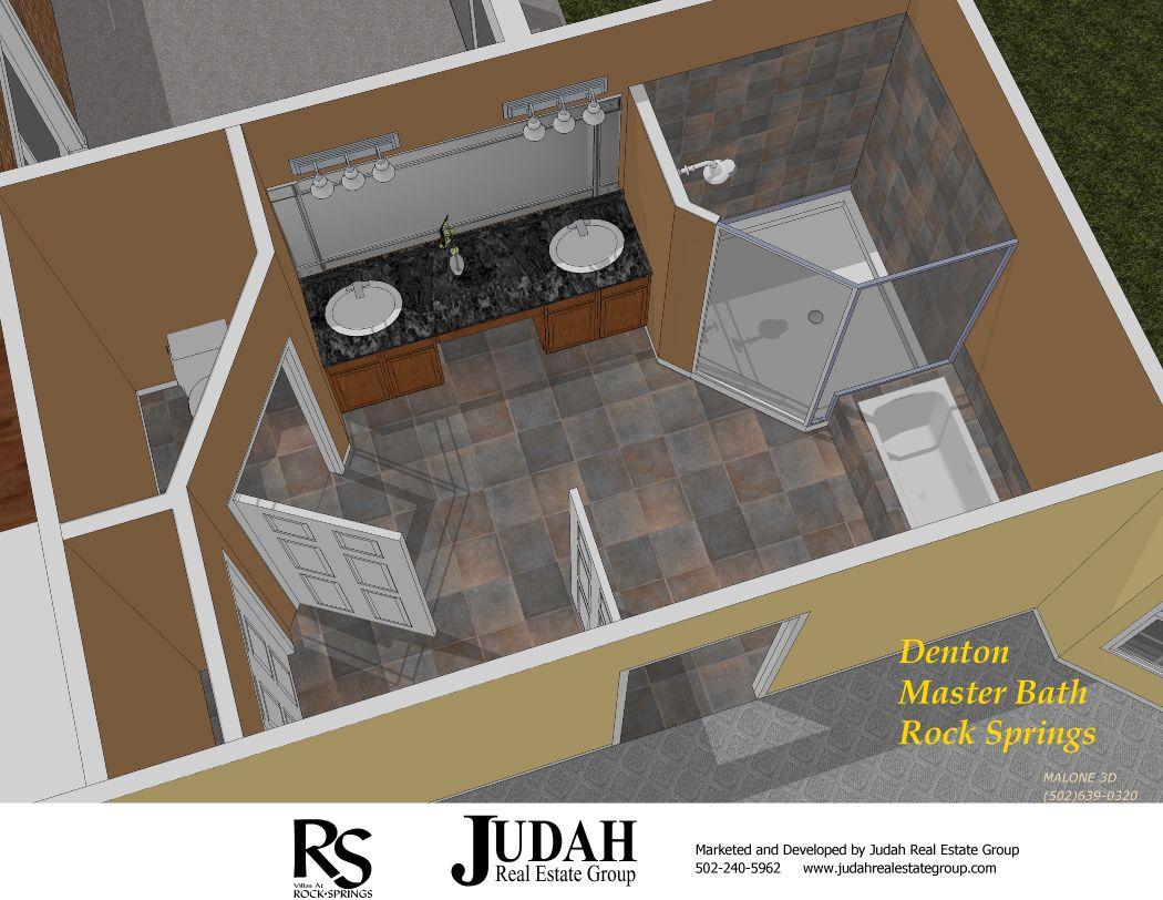 Master bedroom plans and ideas master bathroom floor for Unusual bathroom flooring ideas