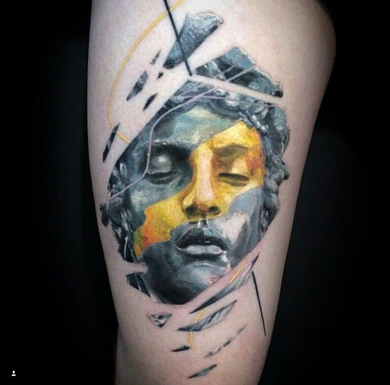 По своему эскизу Tatts Tattoo Tattoos Ink Inked: Tatuaje Surrealista, Tatuajes