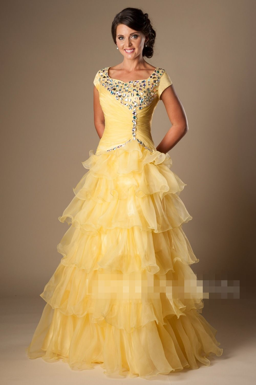 ced1f0f32bc9 Cheap Modest Prom Dresses