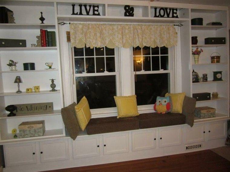 Ventanas con asientos - cincuenta ideas geniales | Pinterest ...