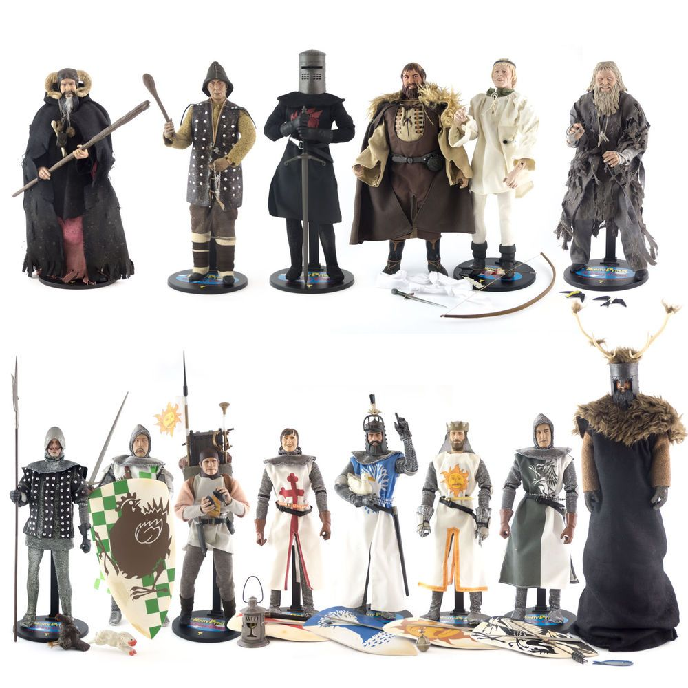Monty Python The Royal Philharmonic Orchestra Goes To The Bathroom: Details About 2001 Sideshow Toy Monty Python And The Holy