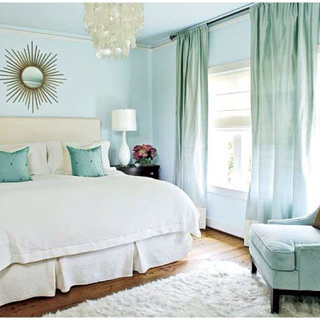 Blue Bedroom Color Scheme Home Decor House Painting Interior Decorating