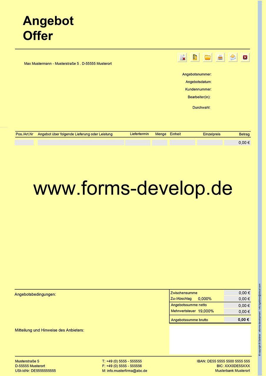 selbstrechnendes und sicheres pdf formular zum ausf llen drucken signieren mailen. Black Bedroom Furniture Sets. Home Design Ideas