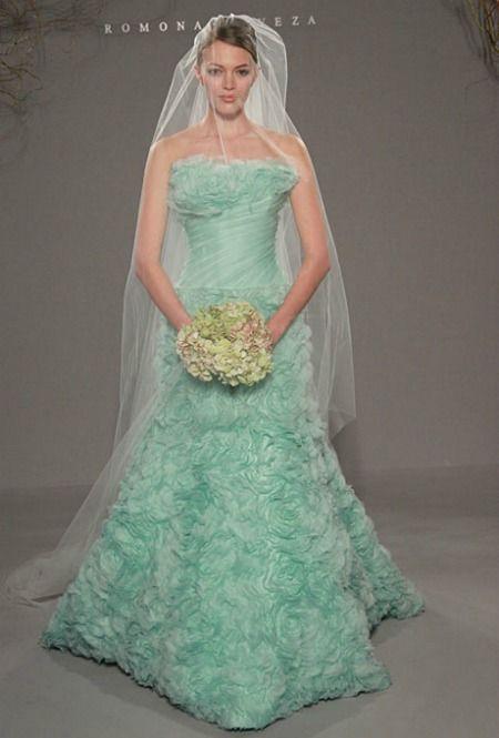 Cynthia Nixons Wedding Dress She Walked Down The Aisle In GREEN