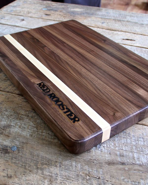 This is one butcher block cutting board you won't want to put away… but always display! As beautiful as it is functional & hand.crafted from American hardwood, walnut or maple with a contrasting stripe makes this cutting board a one-of-a-kind … Continue reading →