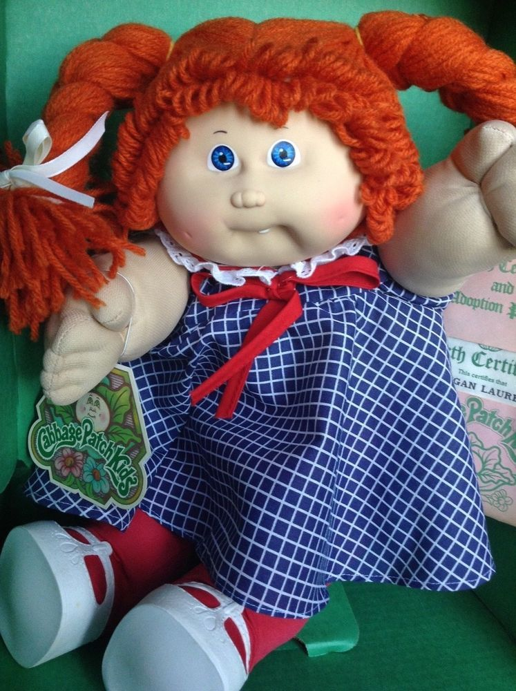 1985 Cabbage Patch Kids 16 Doll Coleco In Box Regan Lauren New Cabbage Patch Kids Cabbage Patch Kids Dolls Cabbage Patch