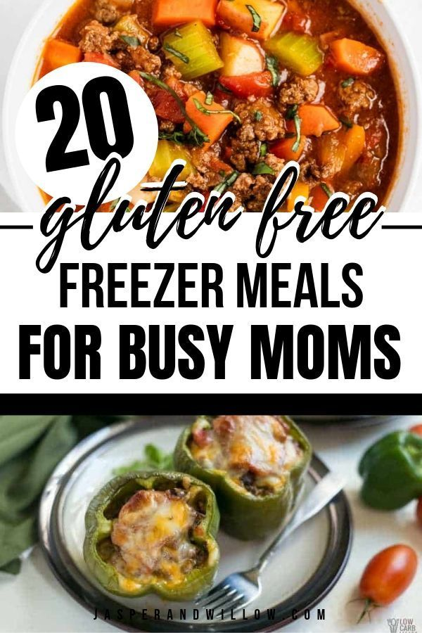 20 Easy Gluten Free Freezer Meals For Busy Moms images