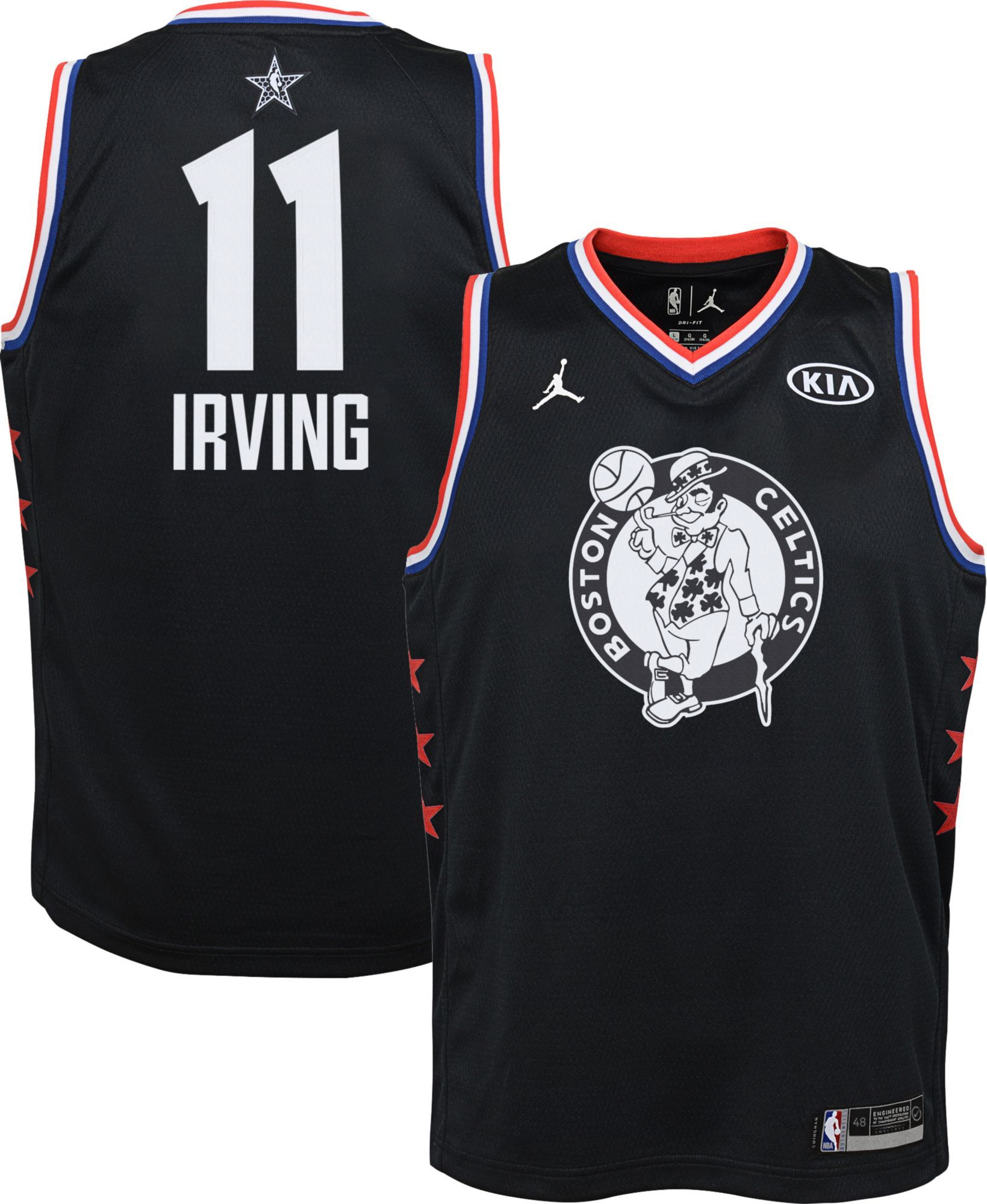wholesale dealer fb740 5f1fe Jordan Youth 2019 NBA All-Star Game Kyrie Irving Black Dri ...