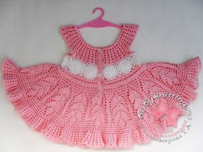 Crochet Patterns Vintage Crochet Baby Dress Pattern Free