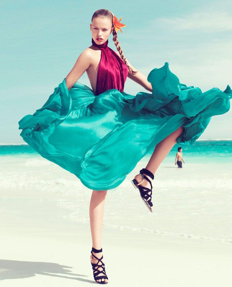Hailey Clauson x Harper's Bazaar @ ShockBlast